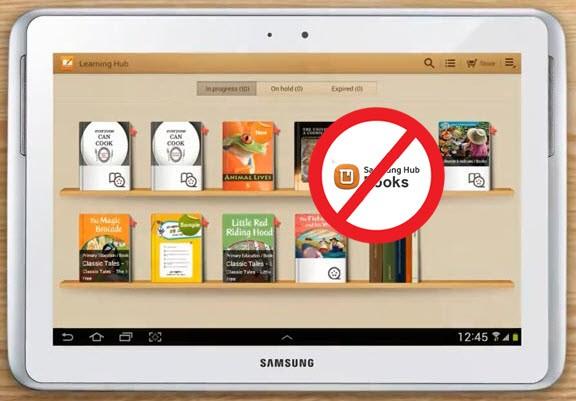 read books on samsung galaxy tablet