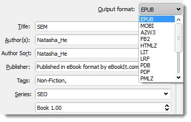 Set-EPUB-Output-format