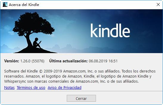 Acerca del Kindle