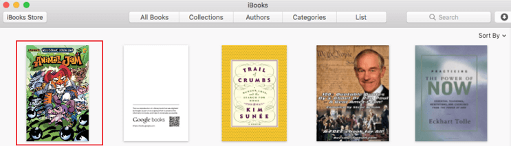 add google books to ibooks