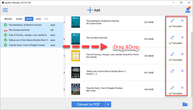 how to find downloaded books on ipad