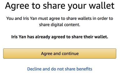 accepter de partager le portefeuille