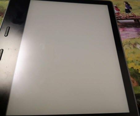 blank screenlock