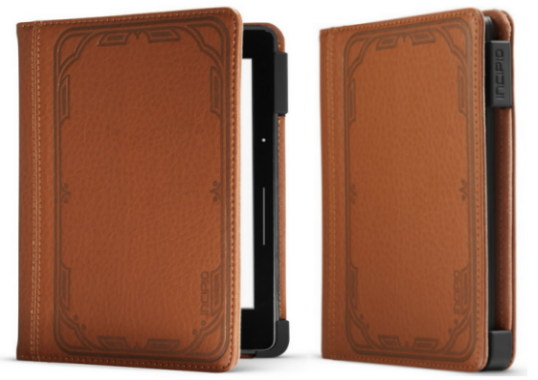 brown kindle voyage case