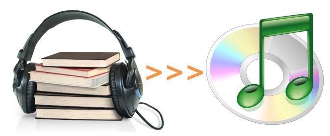 how to burn audible to cd easily
