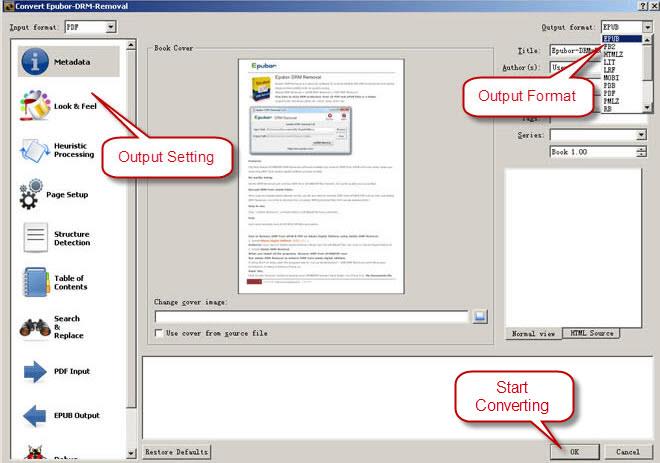 PDF to ePUB Freeware, How to Convert PDF to ePUB for Best