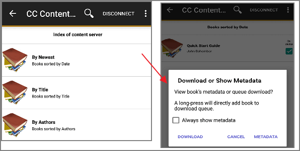 Calibre for Android Guide: How to Sync, Download and Read eBooks