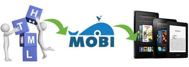 convert HTML to MOBI for Kindle