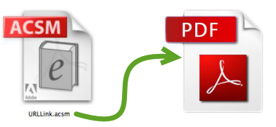 convertir acsm en pdf