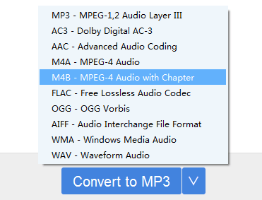 convert audible to mp3 before burning to cd