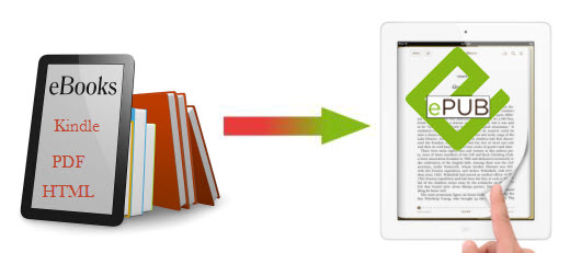 how to convert pdf to epub format