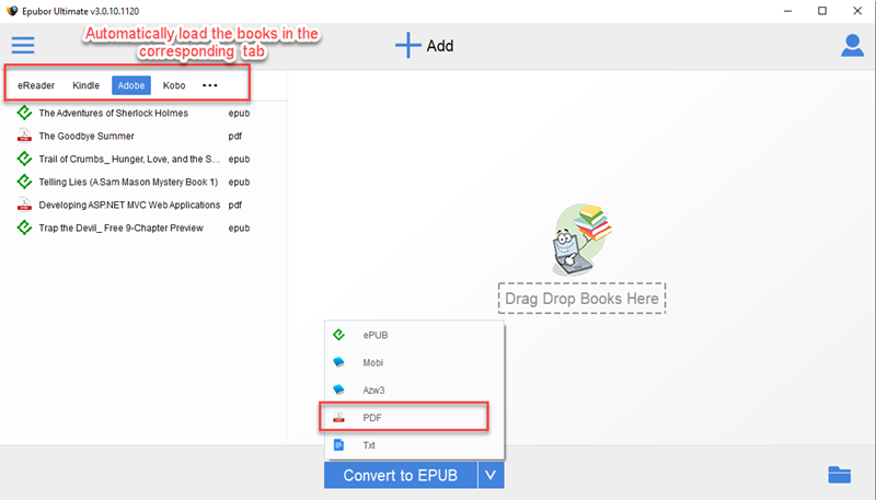 how to create epub ebooks from pdf