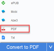 convert kindle ebook to pdf