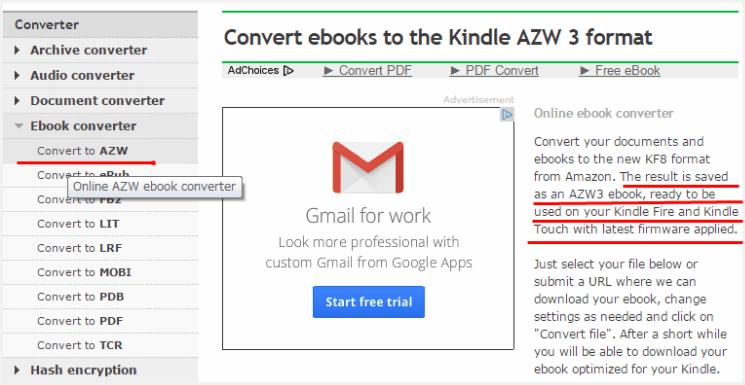 Azw To Pdf Converter Free Download