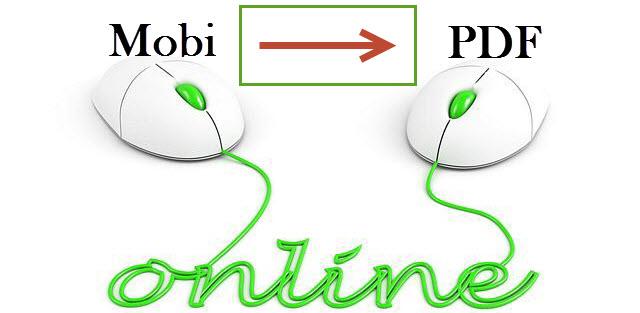 convert mobi to pdf online free
