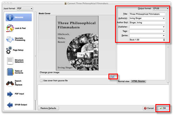 convert pdf to ipad iBooks