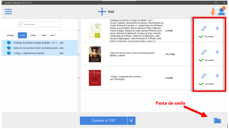 converter formato de ebook kindle
