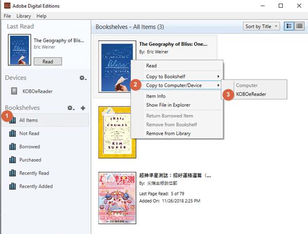 copy google play book to kobo