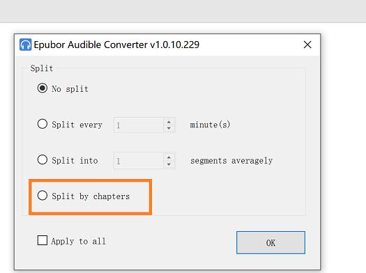 diviso audiolibri in capitoli