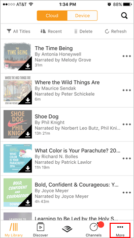 How to Listen to Audible Books on iPhone/iPad