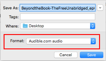 download audible books to mac