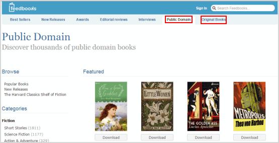 download free kobo books from feedbooks