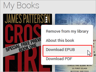 download epub google