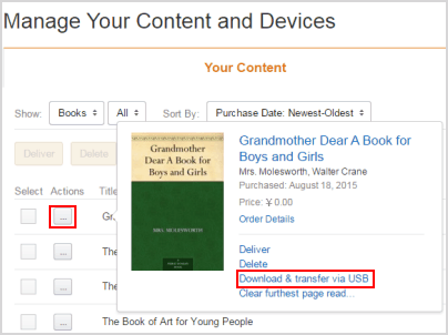 download kfx books from amazon website