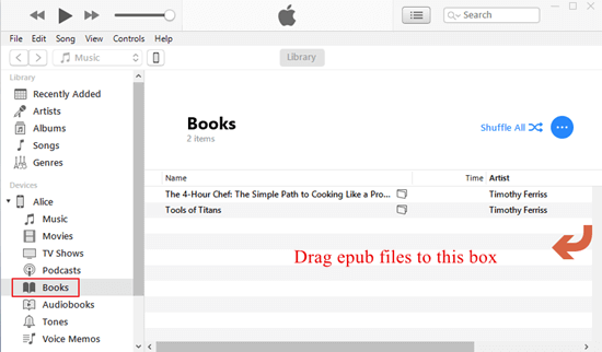 How to Copy EPUB to iPhone