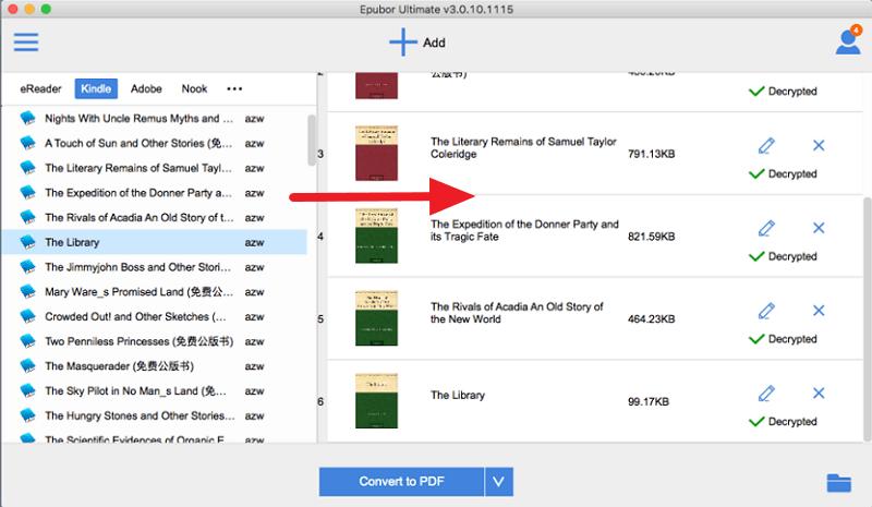 Kindle to PDF Converter Mac, Convert Mobi, AZW, AZW3 to PDF