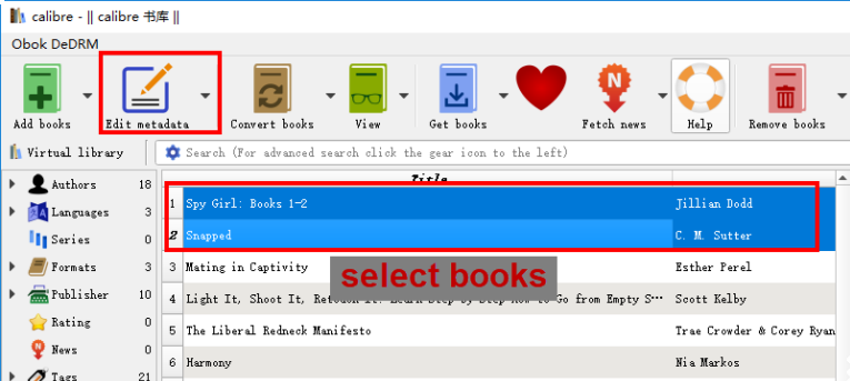 edit book metadata calibre