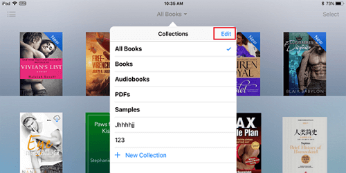 How to Delete Books from iBooks