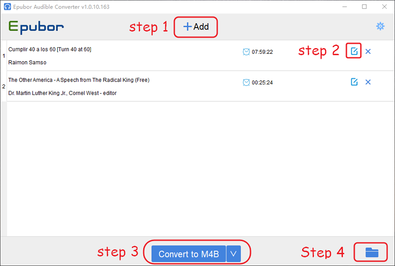 Ultimate Way to Convert Audible AAX/AA to M4B