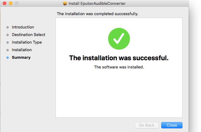 install epubor audible converter