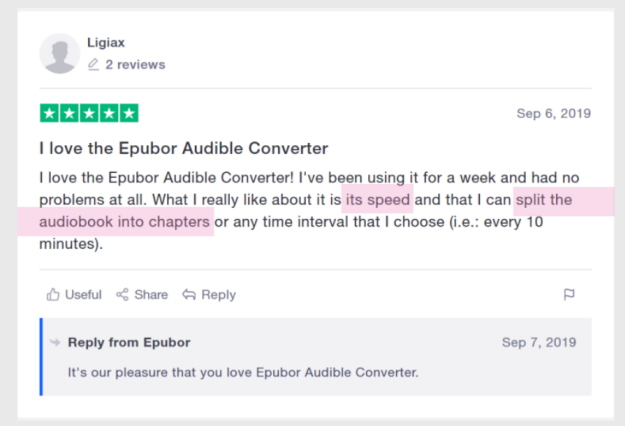 epubor audible converter revisione