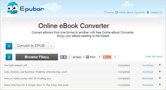 ebook converter online