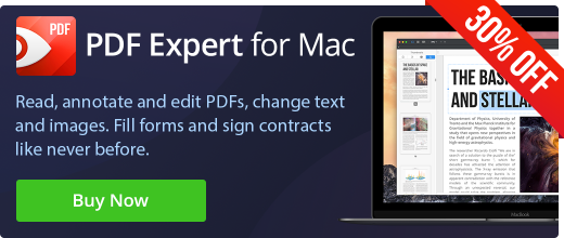 PDF Expert 30% off for epubor