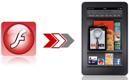 install and play flash on Kindle Fire