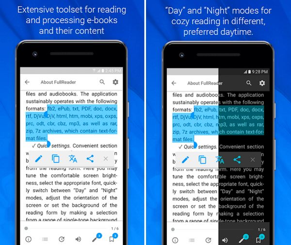 10 Best Epub Readers for Android 2019