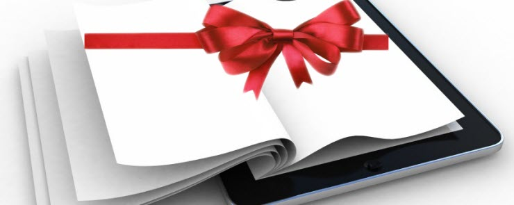 gift an ebook to friends and family