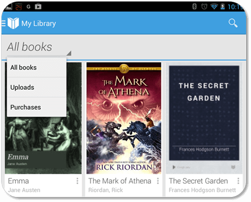 Read Google Play Books