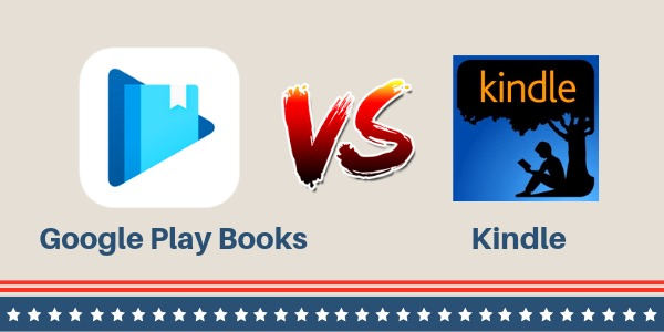 google play books vs Kindle books