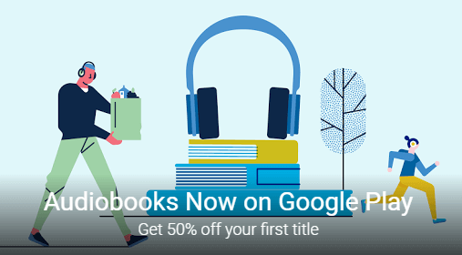 google play selling audiobooks