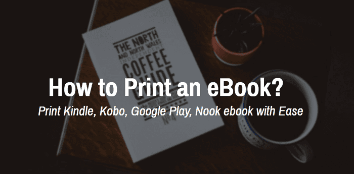 how to print an ebook