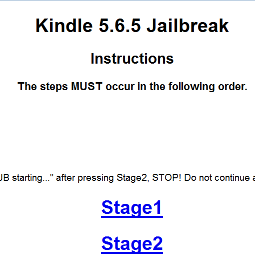 How To Jailbreak Kindle Paperwhite 2017