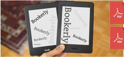 kindle bookerly kfx