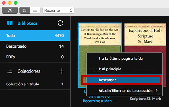 ebooks kindle descargar