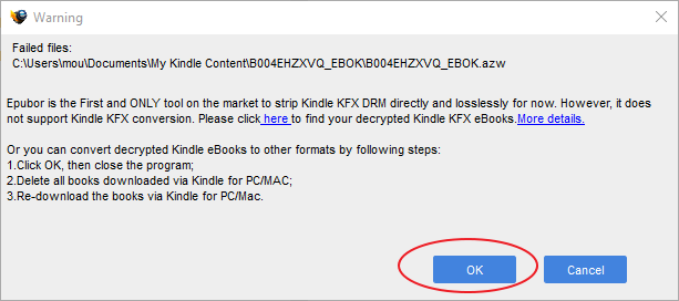 remove Kindle DRM