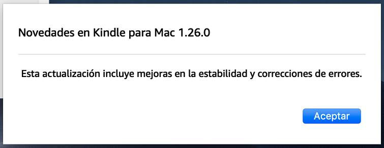 kindle para mac v1.26