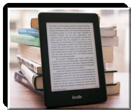 read Kobo books on Kindle - logo
